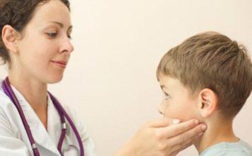 лицевой неврит ребёнка