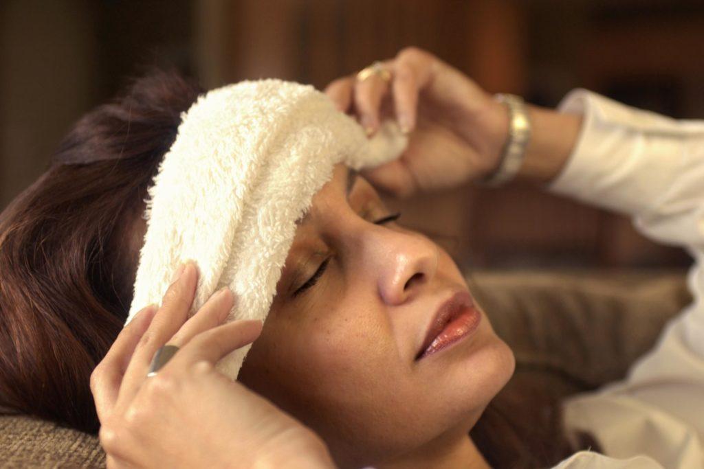 Компресс при мигрени