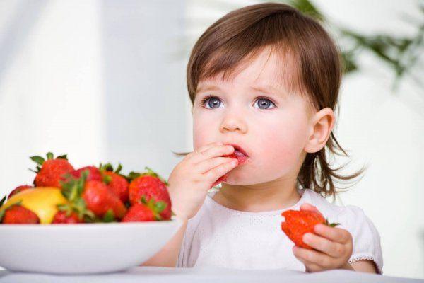 Аллергическая реакция на клубнику у детей