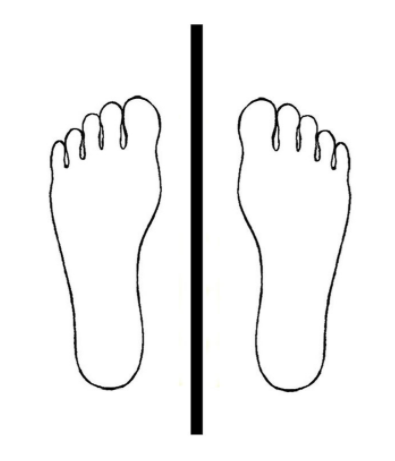 Как ставить ступни при ходьбе