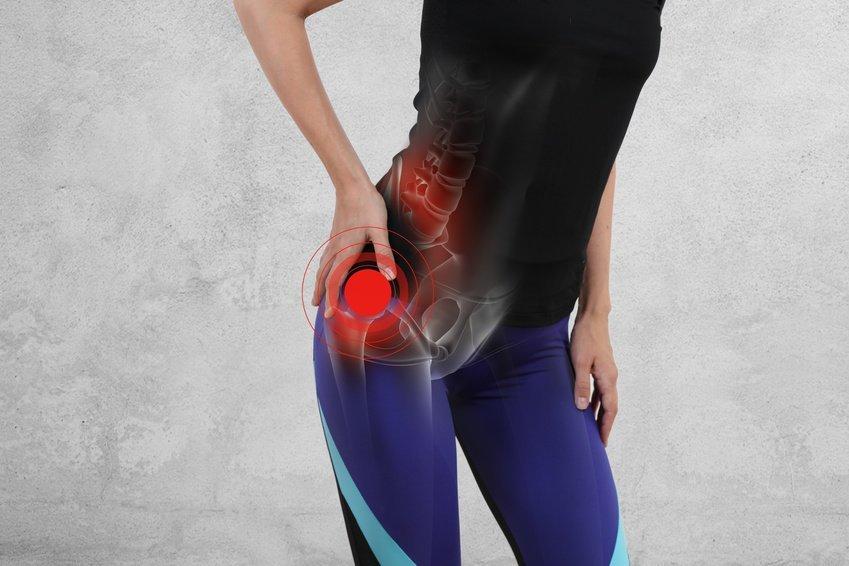 Тазобедренный сустав - повреждение